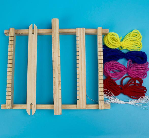 maydanlen 2 Máy đan len mini tự chế