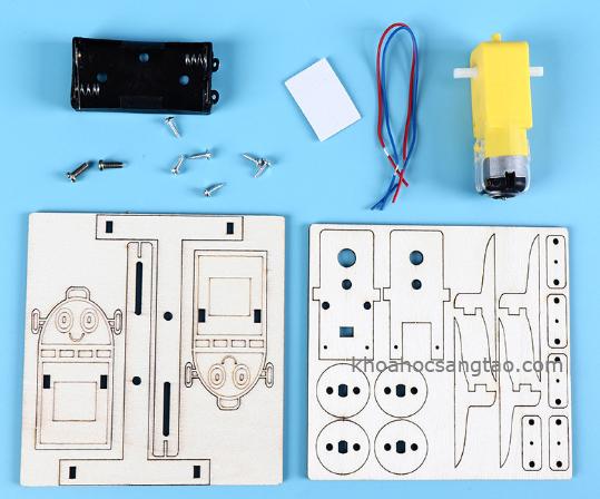 robotgo 2 Đồ chơi robot gỗ