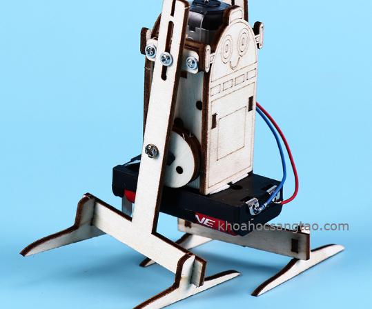 robotgo 3 Đồ chơi robot gỗ