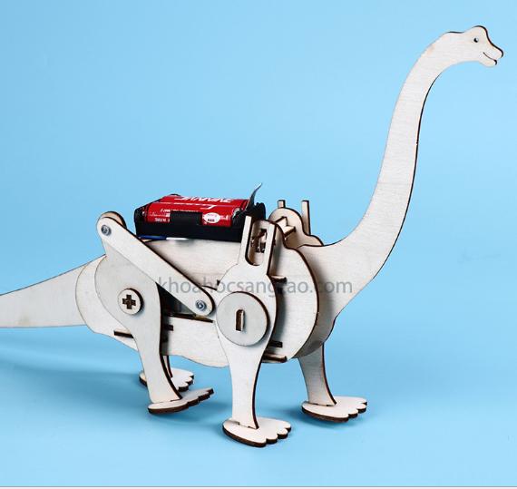 Stem  Bộ đồ chơi khủng long gỗ