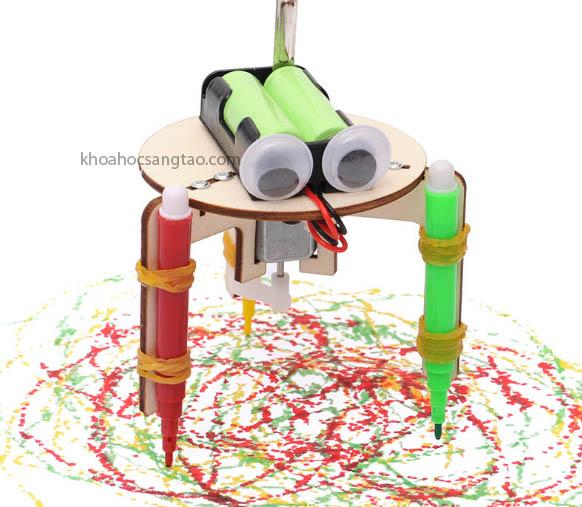 Robot tự vẽ loại 2